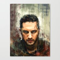 mad max Canvas Prints featuring Mad Max by Wisesnail