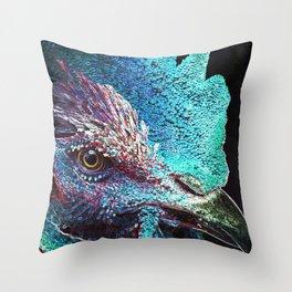 Nice Cock Throw Pillow