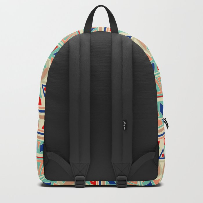 Ethnic ornament 12 Backpack