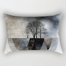 TREES over MAGIC MOUNTAINS II Rectangular Pillow
