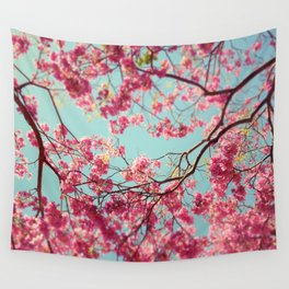 Spring Sky Wall Tapestry