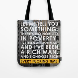 The Wolf of Wall Street Tote Bag