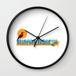 Seabrook Island - South Carolina. Wall Clock