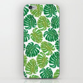 Monstera Leaves iPhone Skin