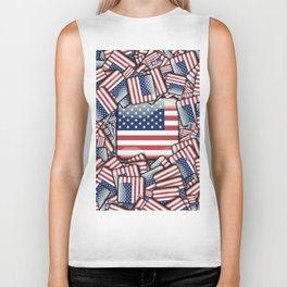 Flag_United_States_by_JAMFoto Biker Tank