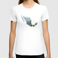 mexico T-shirts featuring Mexico by Isabel Moreno-Garcia
