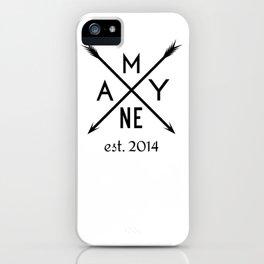 Mayne Arrows iPhone Case