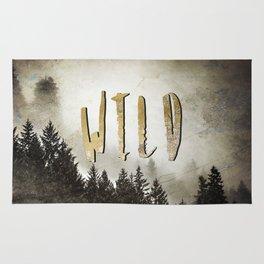 Wild Gold Forest Rug