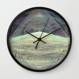Crystallized Vibration Wall Clock