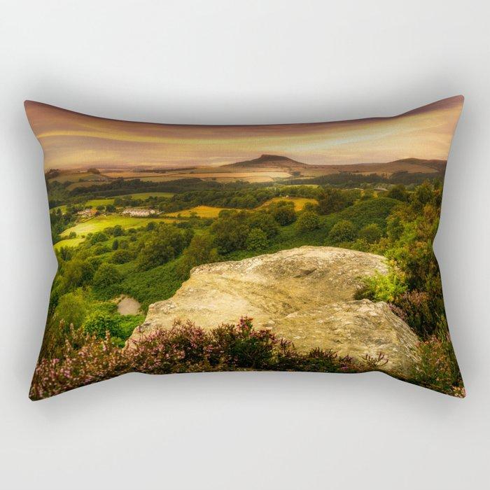Summer Heat Rectangular Pillow