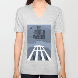 The Haunted Mansion Unisex V-Neck