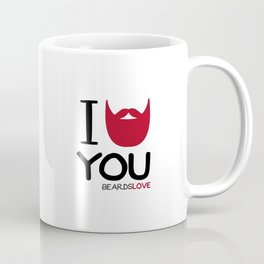 I BEARD YOU Coffee Mug