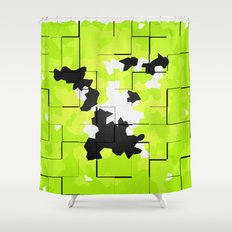 NATURE ISLAND TEXTURE Shower Curtain