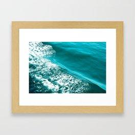 Seattle Seafoam Framed Art Print