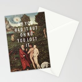 Paradise Lost Stationery Cards