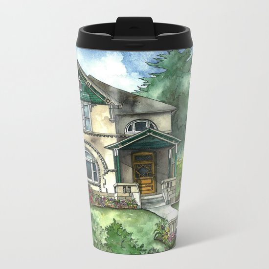 The Secret Garden Metal Travel Mug