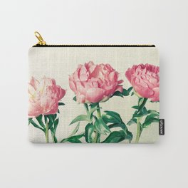 Peony No. 3 Carry-All Pouch