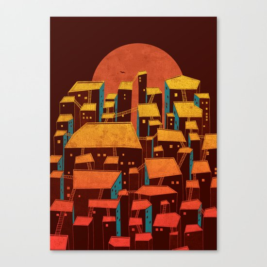 Urbano Canvas Print