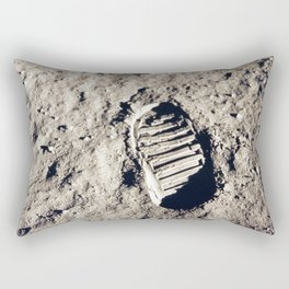 One Giant Leap For Mankind Rectangular Pillow