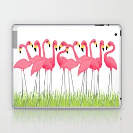 Cuban Pink Flamingos Laptop & iPad Skin