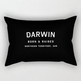 Darwin - NT, AUS (Arc) Rectangular Pillow