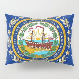 New Hampshire State Flag Pillow Sham