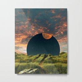 Moon Path Metal Print