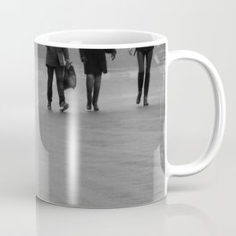 walking on the street Coffee Mug