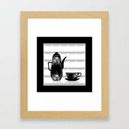 #Teaset   #retro Framed Art Print