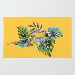 Macaw Parrot Rug