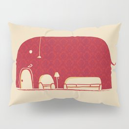 Elephanticus Roomious Pillow Sham