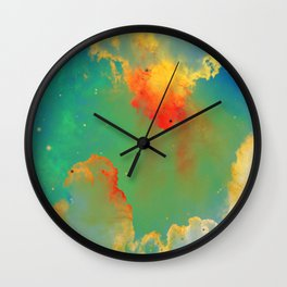 Goldfishes of the Universe Wall Clock