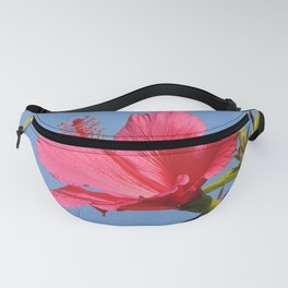 The Neighbor's Pink Hibiscus Fanny Pack