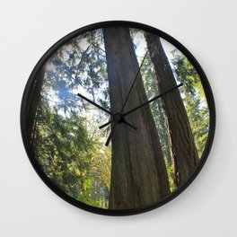 Tree Tree Tree Wall Clock
