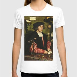 Hans Holbein  - Portrait of Georg Giese T-shirt