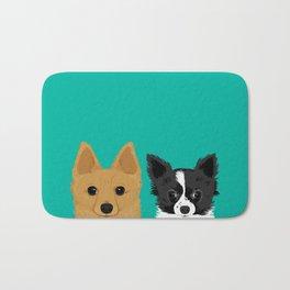 Pippen & Sooty - Teal Bath Mat