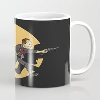 tintin Mugs featuring TinTinfinite by Moysche Designs