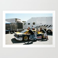 Rolex Monterey Motorsports Reunion 2015 Art Print
