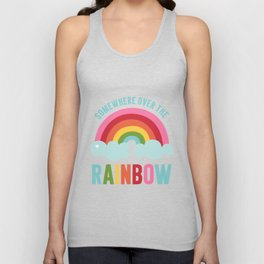 Somewhere Over the Rainbow Unisex Tank Top