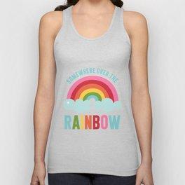 Somewhere Over the Rainbow Unisex Tank Top