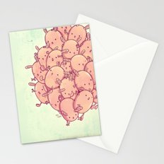 Cute bunnies Stationery Cards
