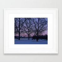 cityscape Framed Art Prints featuring Cityscape  by Cydney Melnyk Photography
