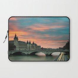 Paris by night France Laptop Sleeve