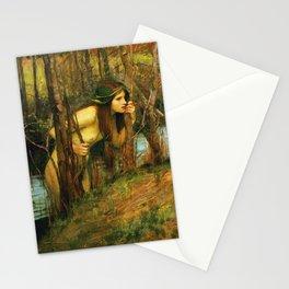 John William Waterhouse - The Naiad Stationery Cards