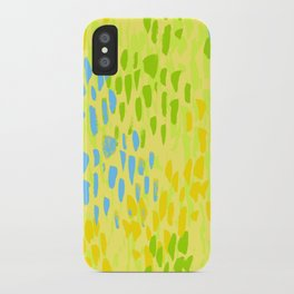 Picnic Pals paint in citrus iPhone Case