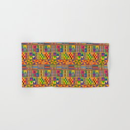 Kente Inspired Hand & Bath Towel