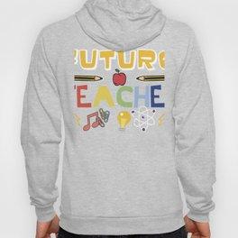 Brainy Kid Smart Child Future Teacher Gift graphic print Hoody