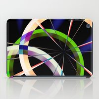 circles iPad Cases featuring circles by haroulita