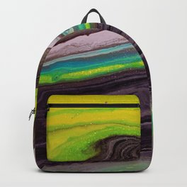 Greenpeace, acrylic on canvas Backpack