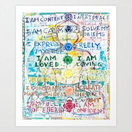 Chakra Primer Art Print